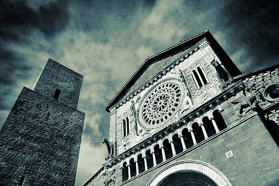 Church of San Pietro - Tuscania by Silvia Ganora