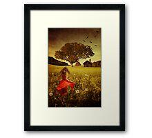 Don't Tell Me I'm A Dreamer... Framed Print