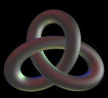 Trefoil knot by Alisdair Gurney
