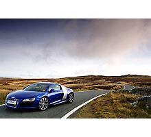 The Audi R8 V 10 .... Photographic Print