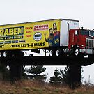 A Truck as a Billboard. by barnsis
