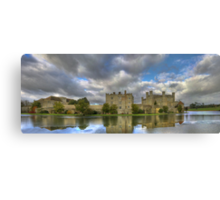Leeds Castle Pano 2 Canvas Print