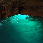 Emerald Light, Ponta da Piedade, Lagos, Portugal by Erika Ribeiro