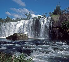 Millstream Falls by Terry Everson