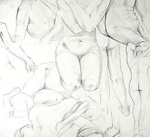 Various Life Drawings in Pencil by Enchanted Studios