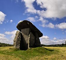 Trethevy Quoit by Regina Hoer