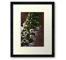 To reach your inner glow Framed Print