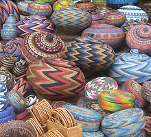 Basket Beads - Bali, Indo by Ginelle Colombo