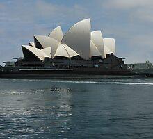 The Battle Ship The Sydney Opera House by Malkman