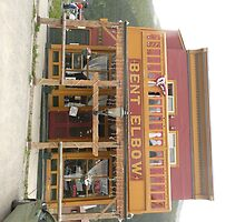 Bent Elbow Saloon Bar, Silverton, Colorado. by Mywildscapepics