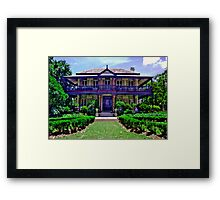 Boronia House, Mosman - NSW - Australia Framed Print