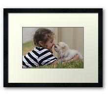 Ella & Ruby Framed Print