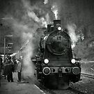 Steam Engine by Regina Hoer