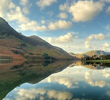 Buttermere and the High Stile Range by VoluntaryRanger