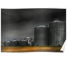 """ Storm Silo "" Poster"