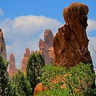 Garden of the Gods / God's Fist by Mark Bolen