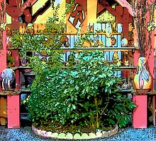 Front of pottery shop by Rachel Williams