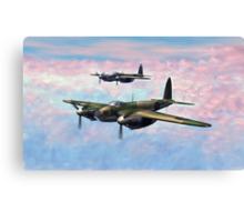 De Havilland Mosquitos Canvas Print