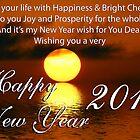 Happy New Year by RajeevKashyap
