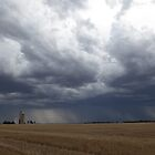 Summer Storm Clouds over the Wimmera by Lynton Brown