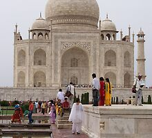The Taj Mahal by Angie Spicer