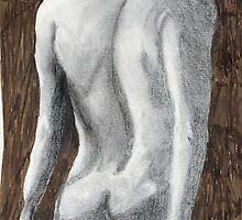 Nude, in Pencil by GEORGE SANDERSON