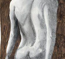 Nude, in Pencil by GEORGE SANDERSON