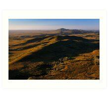 Mt Balfour & The Norfolk Range, Tarkine Landscape, NW Tasmania Art Print