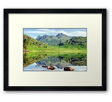 A View Of The Pikes Framed Print