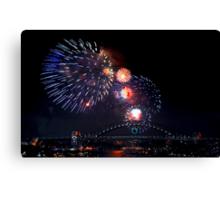New Years Eve - Sydney 9pm Canvas Print