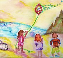 My Sister, My Brother, My Kite by Helena Bebirian