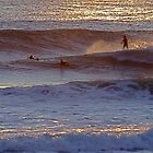 Surfers  at  Carcavelos by BaZZuKa
