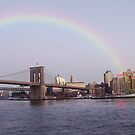 Rainbow Over Brooklyn 2 by Lawrence Henderson