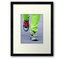 Spark of Neon Framed Print