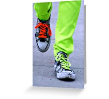 Spark of Neon Greeting Card