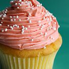Pink cupcake by Framed-Photos