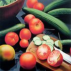 Vegetables by Christopher  Salmon