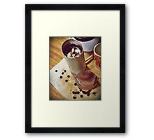 All for the Love of the Brew Framed Print
