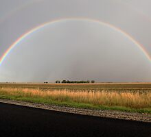 Rainbow after Summer Storm by Lynton Brown