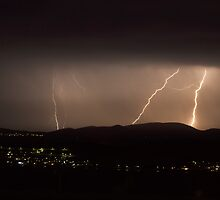 New Years Eve Lightning by Chris Cobern