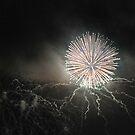 Firework monochrome by andreisky