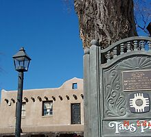 Taos Plaza by mary77