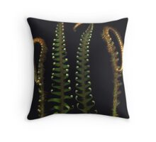 Ferns from the Garden Throw Pillow