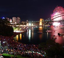 Sydney NYE by Jonathan Stables