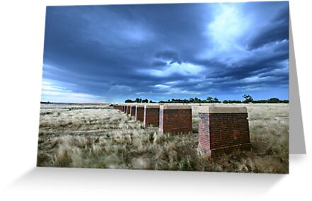 Storm Bridge, Castlemaine, Australia by Michael Boniwell