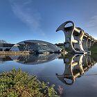 The Falkirk Wheel by Daniel Davison