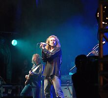 Robert Plant at Cornbury, 2006 by Mick Yates
