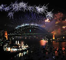 Let There Be Light # 3- Sydney New Years Eve by Philip Johnson