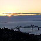 Astoria-Megler Bridge Sunset by cjbenck