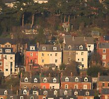 Houses of Stroud, in Gloucestershire by Jeff  Wilson